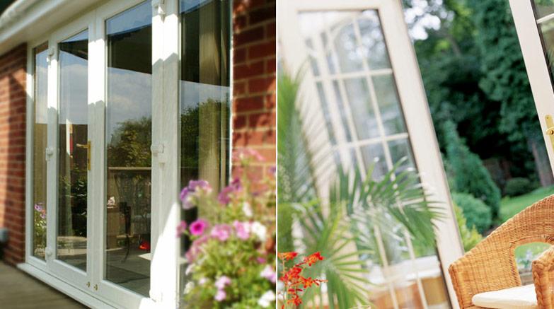 French patio door image