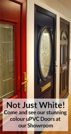 upvc colour door image