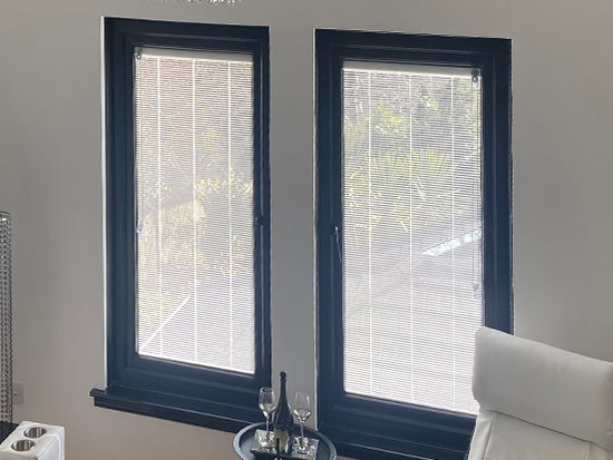 Integrated blinds image 1