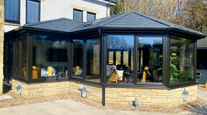 Tiled Conservatory Roof image